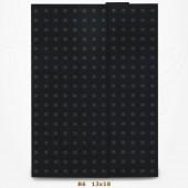 Carnet Paper-Oh - Quadro Gris sur Noir