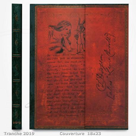 Agenda 2019 - Alice au Pays des Merveilles 18x23 - Une Semaine sur deux Pages