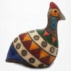 Poule de Guinée en Raku