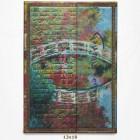 Carnet - Monet - Le Pont - Manuscrits Estampés
