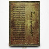 Carnet - Mozart - Manuscrits Estampés