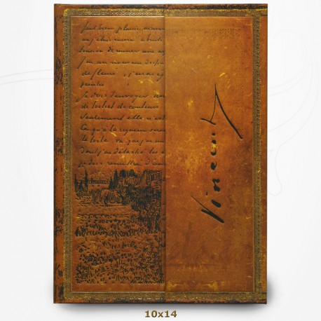 Carnet - Van Gogh - Extrait de Lettre - Manuscrits Estampés