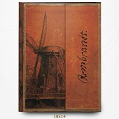 Carnet - Rembrandt - Le Moulin - Manuscrits Estampés