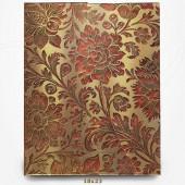 Carnet Fleur Miellée - Papier Brocart