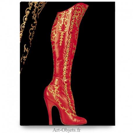 Carnet Botte à Boutons - Fabuleuses Chaussures