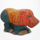Hippopotame en Raku