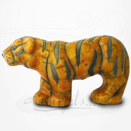 Tigre en Raku