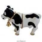 Boîte à secrets Vache - Métal émaillé
