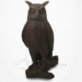 Hibou - Chouette - Bronze