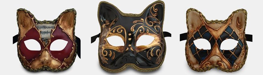Masque de Venise - Chat
