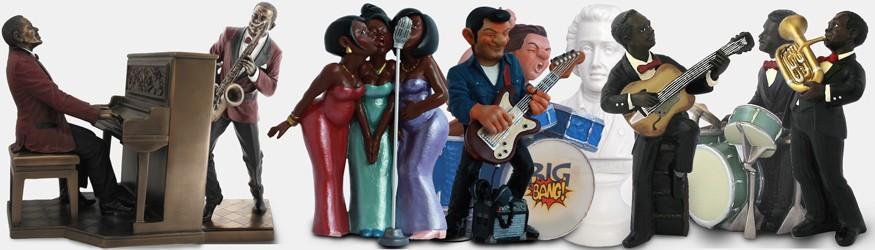 Statuettes  Figurines Musique