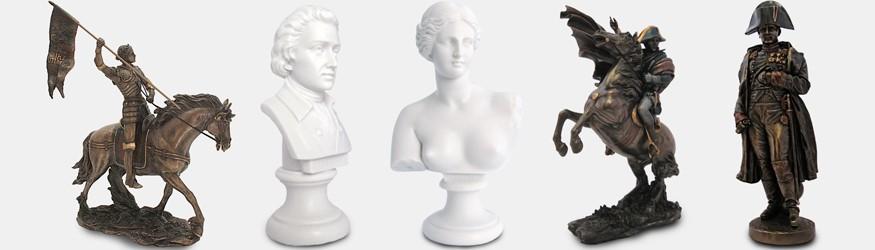 Statuettes  Figurines Histoire