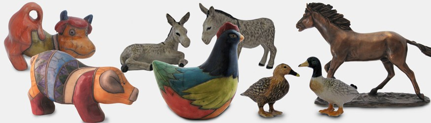 Figurines Animaux de la Ferme