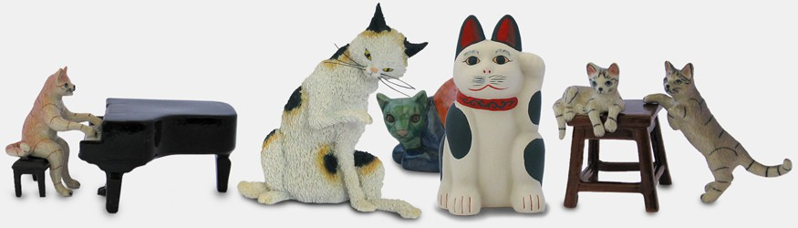 Figurines Chats Classiques
