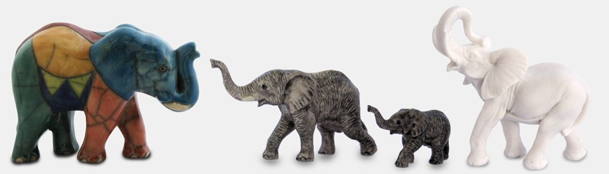 Figurines Eléphants
