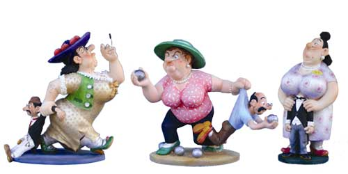 Figurines Albert DUBOUT